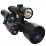 3-9X40 Crosshair Tactical Sniper Hunting Rifle Scope with Red Laser Torch