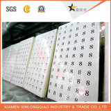 Label Printing Transparent Barcode Printed Paper Plastic Price Bo. Sticker