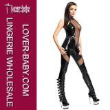 Sexy Woman Catsuit PVC Vinyl Lingerie (L60801)