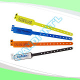 Professional Entertainment Hot Selling Custom Made Disposable Plastic Wristbands (E8020-10)