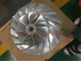 5 Axis Impellers Titanium CNC Machining Service