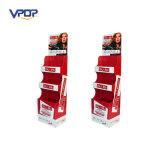 Retail Store Cardboard Floor Display Cosmetics Paper Floor Display Shelves