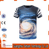 OEM Printed Polyester T-Shirt 3D Sublimation Printing Men Tshirt