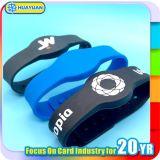 13.56MHz HF Promotional MIFARE Ultralight EV1 RFID Silicone Wristband