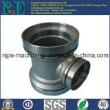 Customized Precision Investment Stainless Steel Casting 3-Ways Pipe