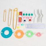 Plastic Markers Holder Needle Clip Craft Mini Knitting Crochet Locking Stitch 50PCS/Bag