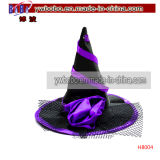Halloween Decoration Carnival Party Witch′s Pointed Hat Headwear (H8004)