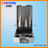 HSS Step Drill Bit with Straight Flute