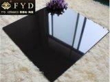 60*60 Solid Color Super Black Polished Unglazed Porcelain Tile (FC6003)