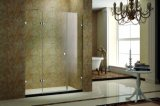 Shower Screen with 1 Hinged Door and 2 Fixed Panels