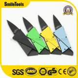 Stainless Steel Blade Credit Card Promotional Camping Pocket Folding Knife