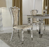 C115# Hot Selling Stainless Steel Luxury Dining Chair