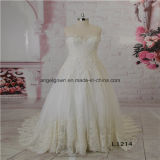 A Line Lace Wedding Dress From China Supplier