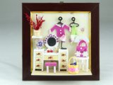 Hanging or Standing DIY Picture Frame Miniature Dolls House Items