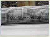 Fiberglass Geogrid Composite with Polyester Geotextile 150g