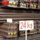 Standard 24kg Steel Railway Rail 55q Q235 Light Rail