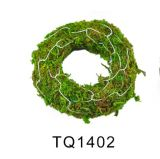 Moss Garland with Iron Wire for Christmas Decoration