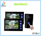 Touch Screen 7 Inches Home Security Interphone Video Door Phone Doorbell with Camera