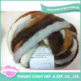 High Strength Breathable Gloves Wool Cotton Fancy Yarn