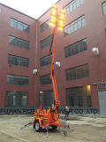LED Tower Light with 9m Hydraulic Mast