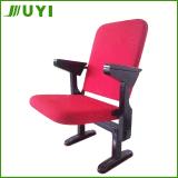 Jy-308 New Desigin Chair with Write Pad China Auditorium Wooden