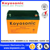 Rechargeable 12 Volt 100ah Deep Cycle Storage Battery Marine Battery