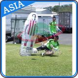Playground Inflatable Football Dribble Model for Entertainment