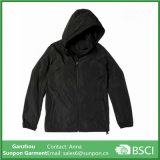 Ordinary Design Hooded Men Jacket Shin Windproof Coat