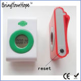 Step Counter Mini Pedometer with Two Keys (XH-PM-001)