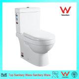 6002 Two Piece Western Toilet Ceramic Sanitary Ware