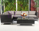 Home Garden Casual Furniture PE Rattan Sofa