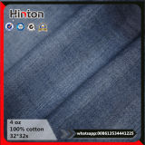 4oz Cheap Price in Stock 100% Cotton Twill Denim Fabric for Jeans Garment