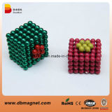 Sintered Neodymium Magnetic Colorful D5mm Ball for Children Toys