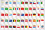 National Flag Poker Playing Cards/Customized Playing Cards