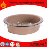 Traditional Sunboat Enamel Round Tray Kitchenware