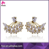 Fancy Design Latest Artificial Earrings Gold Jewelry for Women