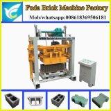 Qt40-2 Small Manual Cement Habiterra Block Machine by Fuda Machinery