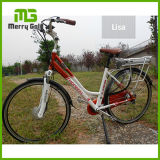 Rack Lithium Battery 28 Inch Ladies Style City E Bike