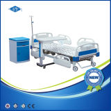 Three Function Manual Hospital Bed Table with Drawer (BS-838A)