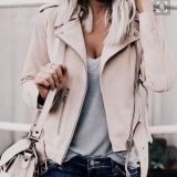 Ladies Leather Jacket, Decals, Fashion Clothing, Lack. Cool
