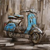 3 D Metal Painting for Motobike
