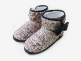 Ladies Casual Cute Warm Knitted Soft Boots for Winter