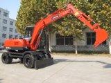Bd-80 Wheel Excavators Construction Machine Haeavy Equipment From China