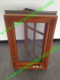 European Design Wood Aluminium Casement Window