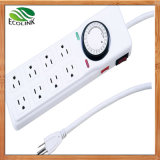 USA 8-Outlet Energy Saving Power Strip Standby Saver