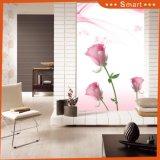 Elegant Design Stereoscopic Dreamlike Pink Flower for Decoration Oil Painting