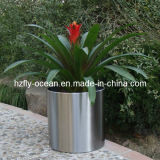 Fo-9003 Cylinder Stainless Steel Flower Planters
