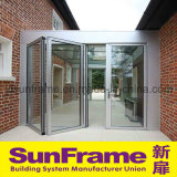Aluminium Bi-Folding Door for Sunlight Room