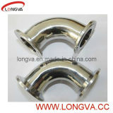 Stainless Sanitary Tri Clover Clamp End Elbow