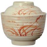 100%Melamine Dinnerware-Miso Soup Bowl W/Lid/Melamine Bowl (AG120S)